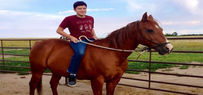 Christian Riding In Colorado