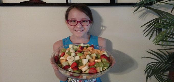 Stars Fruit Salad